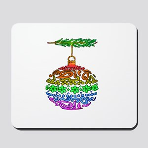 1 PRIDE ORNAMENT TEXTURED ON Mousepad